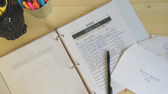 How to Use Our Homestead Management Binder