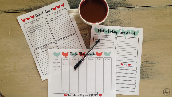 Free, Printable To Do Lists for the Homesteader